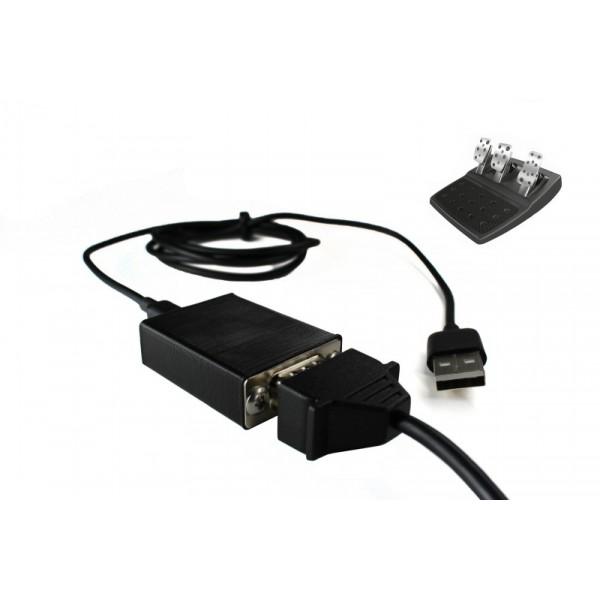 Pedales Logitech a USB